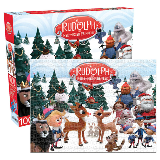 Rudolph The Red-nosed Reindeer 1,000pc Puzzle | Cookie Jar - Home of the Coolest Gifts, Toys & Collectables