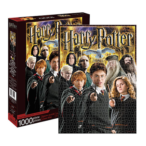 Harry Potter Collage 1000pc Puzzle | Cookie Jar - Home of the Coolest Gifts, Toys & Collectables
