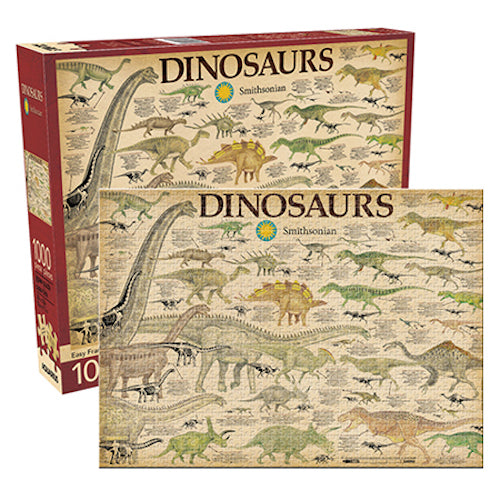Smithsonian - Dinosaurs 1000pc Puzzle | Cookie Jar - Home of the Coolest Gifts, Toys & Collectables