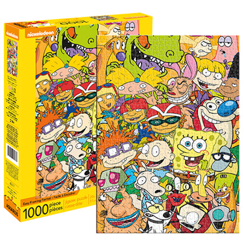 Nickelodeon Cast 1000pc Puzzle | Cookie Jar - Home of the Coolest Gifts, Toys & Collectables