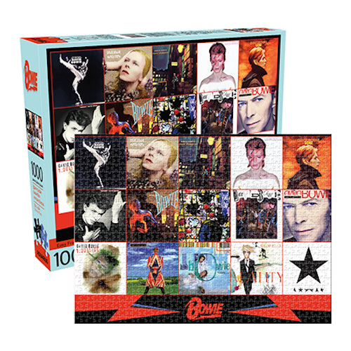 David Bowie - Albums 1000pc Puzzle | Cookie Jar - Home of the Coolest Gifts, Toys & Collectables