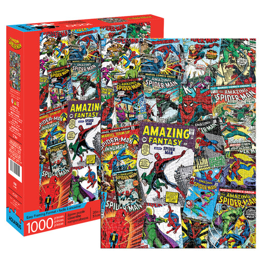 Marvel - Spider-Man Collage 1000pc Puzzle | Cookie Jar - Home of the Coolest Gifts, Toys & Collectables