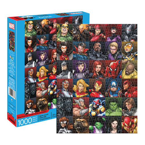 Marvel Heroes Collage 1000pc Puzzle | Cookie Jar - Home of the Coolest Gifts, Toys & Collectables