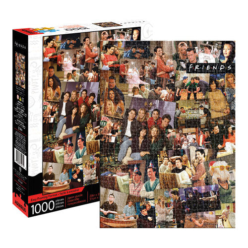 Friends - Collage 1000pc Puzzle | Cookie Jar - Home of the Coolest Gifts, Toys & Collectables