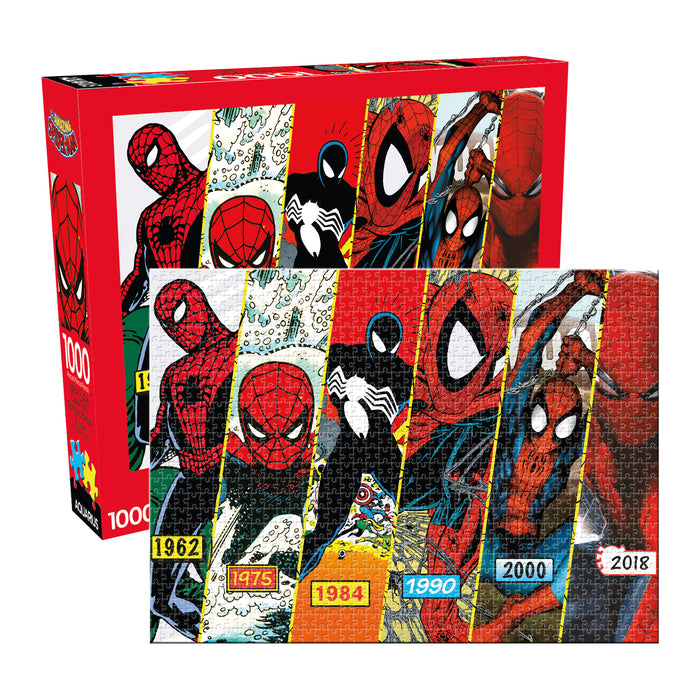 Marvel - Spider-Man Timeline 1000pc Puzzle