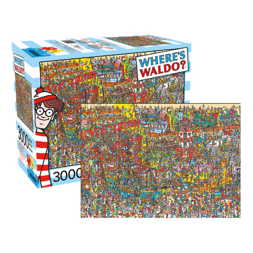 Where's Waldo 3000pc Puzzle | Cookie Jar - Home of the Coolest Gifts, Toys & Collectables