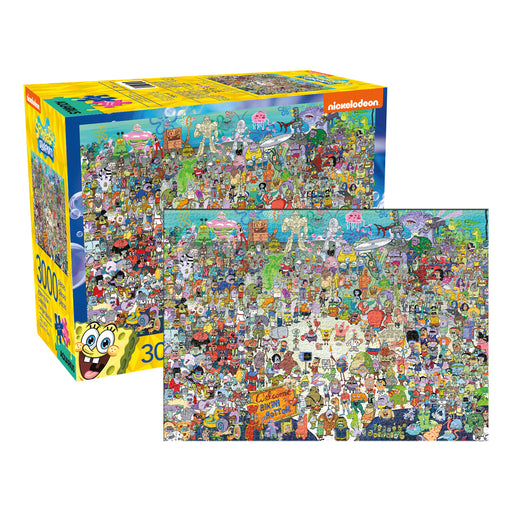 SpongeBob SquarePants 3000pc Puzzle | Cookie Jar - Home of the Coolest Gifts, Toys & Collectables