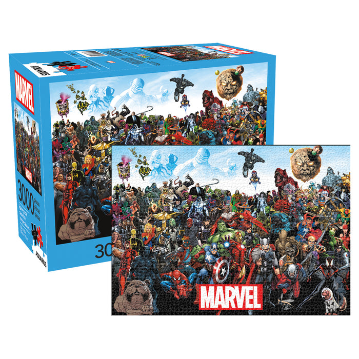 Marvel Cast 3000pc Puzzle | Cookie Jar - Home of the Coolest Gifts, Toys & Collectables