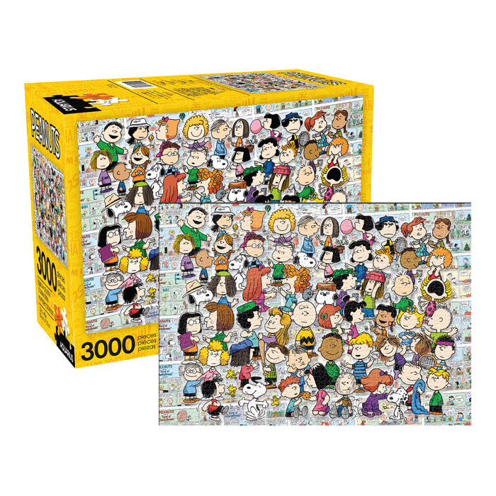 Peanuts - Cast 3000pc Puzzle