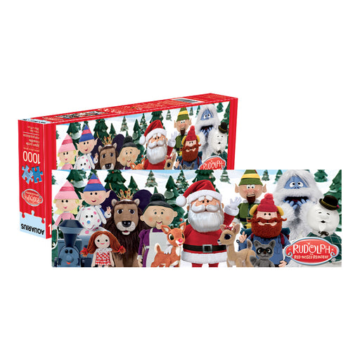 Rudolph the Red-Nosed 1,000 pc Slim Puzzle | Cookie Jar - Home of the Coolest Gifts, Toys & Collectables