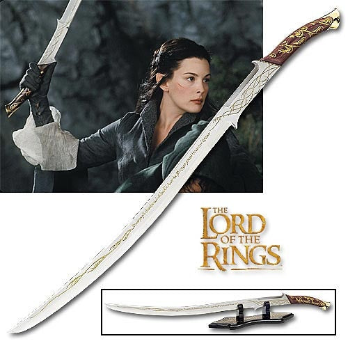 The Lord Of The Rings - Sword Of Arwen Replica
