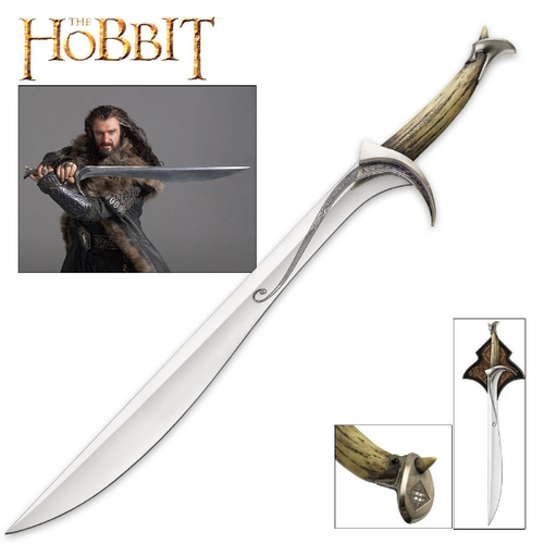 The Hobbit - Orcist Sword Of Thorin Oakenshield Replica