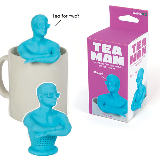 Tea Man Tea Infuser | Cookie Jar - Home of the Coolest Gifts, Toys & Collectables