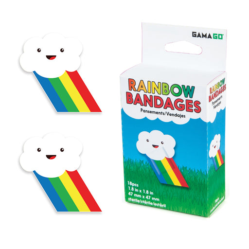 Rainbow Bandages | Cookie Jar - Home of the Coolest Gifts, Toys & Collectables