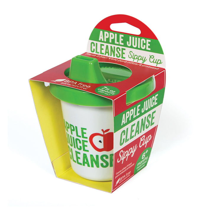 Apple Juice Cleanse Sippy Cup | Cookie Jar - Home of the Coolest Gifts, Toys & Collectables