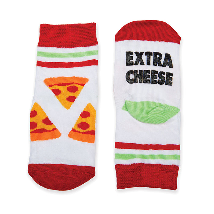 Happy Feet Socks - Extra Cheese | Cookie Jar - Home of the Coolest Gifts, Toys & Collectables