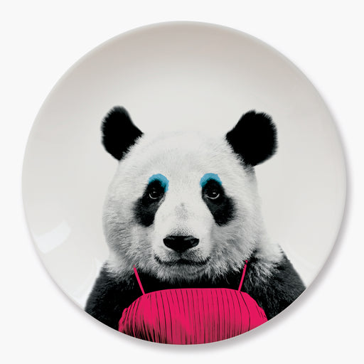 Mustard - Wild Dining - Patricia Panda Ceramic Dinner Plate | Cookie Jar - Home of the Coolest Gifts, Toys & Collectables