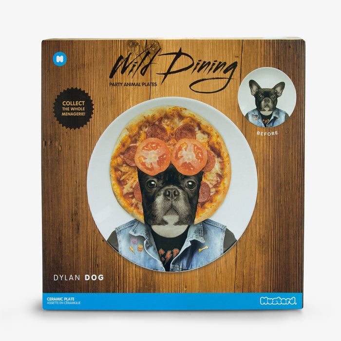 Mustard - Wild Dining - Dylan Dog Ceramic Dinner Plate