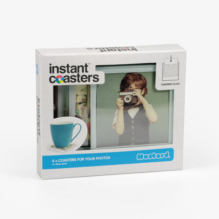 Mustard - Instant Coaster 4 Pack | Cookie Jar - Home of the Coolest Gifts, Toys & Collectables