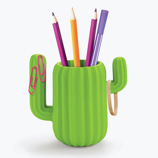 Mustard - Cactus Desktop Organiser / Pen Pot | Cookie Jar - Home of the Coolest Gifts, Toys & Collectables