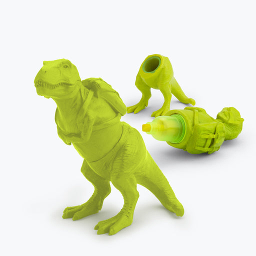 Mustard - T-Rex Highlighter Lime | Cookie Jar - Home of the Coolest Gifts, Toys & Collectables