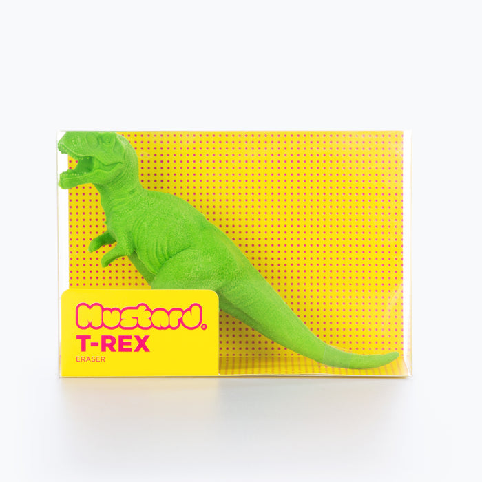 Mustard - T-Rex Eraser | Cookie Jar - Home of the Coolest Gifts, Toys & Collectables