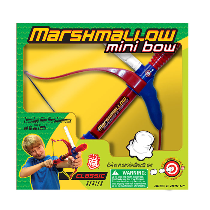 Classic Series Mini Bow Marshmallow Shooter | Cookie Jar - Home of the Coolest Gifts, Toys & Collectables