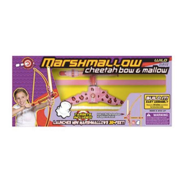 Wild Series Cheetah Bow & Mallow Marshmallow Shooter | Cookie Jar - Home of the Coolest Gifts, Toys & Collectables