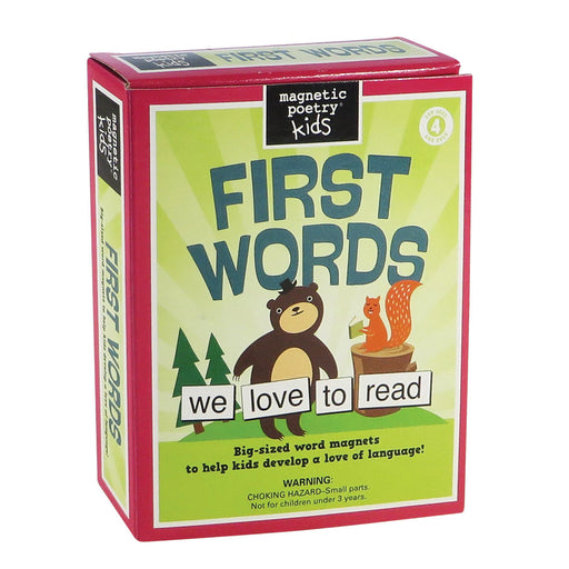 Magnetic Poetry Kit - First Words | Cookie Jar - Home of the Coolest Gifts, Toys & Collectables