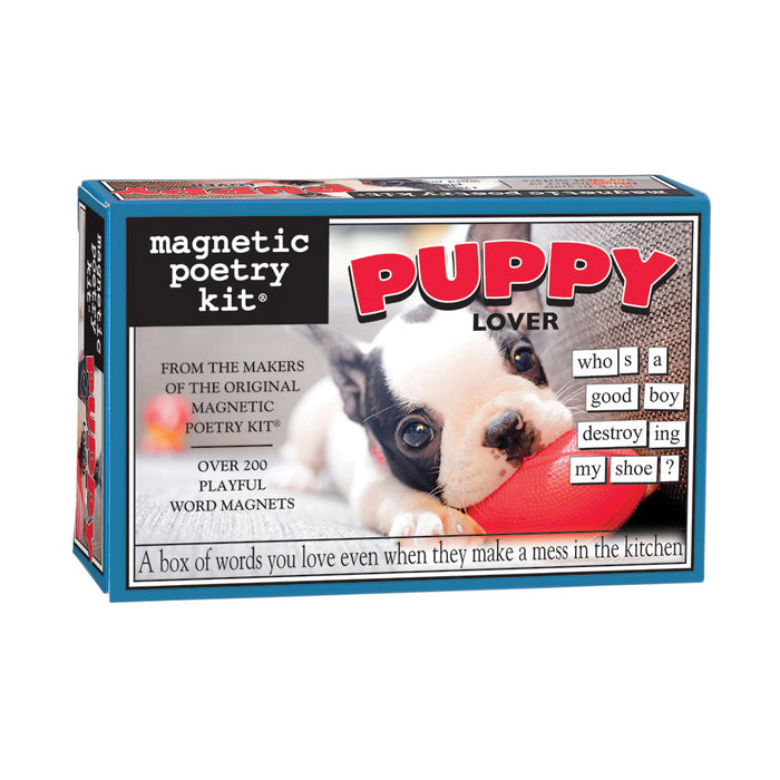 Magnetic Poetry Kit - Puppy Lover | Cookie Jar - Home of the Coolest Gifts, Toys & Collectables