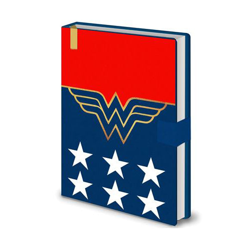DC Comics - Wonder Woman Costume Premium A5 Notebook | Cookie Jar - Home of the Coolest Gifts, Toys & Collectables