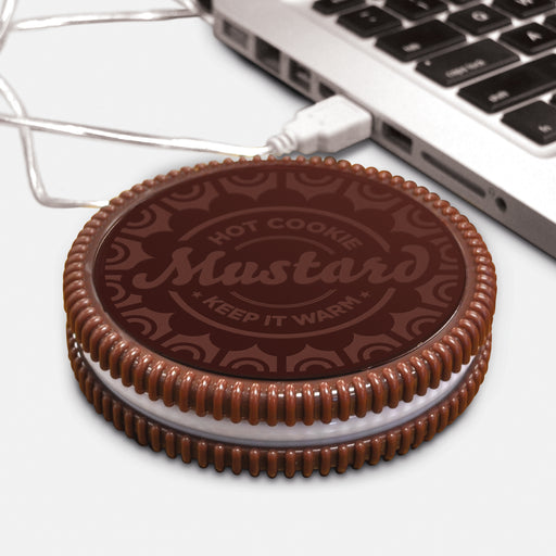 Mustard - Hot Cookie USB Cup Warmer | Cookie Jar - Home of the Coolest Gifts, Toys & Collectables
