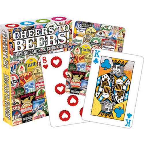 Cheers To Beers Playing Cards | Cookie Jar - Home of the Coolest Gifts, Toys & Collectables