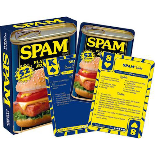 SPAM Recipes Playing Cards