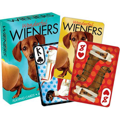 Wonderful Weiners Playing Cards
