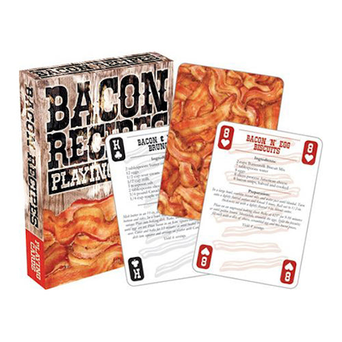 Bacon Recipes Playing Cards | Cookie Jar - Home of the Coolest Gifts, Toys & Collectables