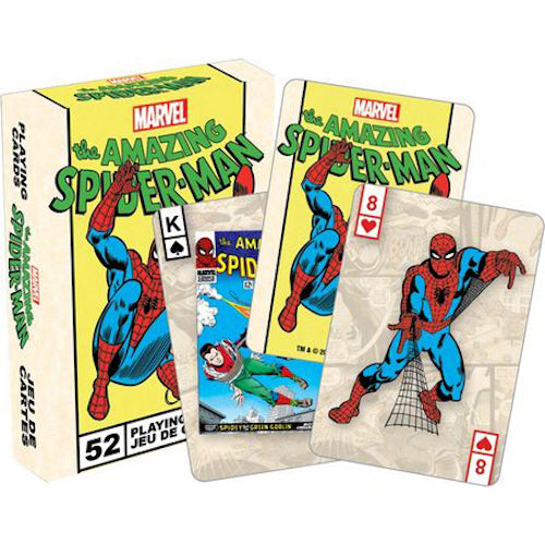 Marvel Spiderman Retro Playing Cards - Cookie Jar Gifts, Toys & Collectables