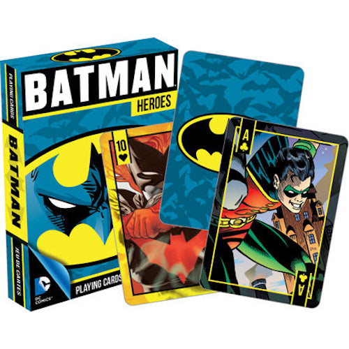 DC Comics - Batman Heroes Playing Cards | Cookie Jar - Home of the Coolest Gifts, Toys & Collectables