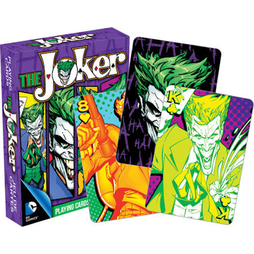 DC Comics - The Joker Comics Playing Cards | Cookie Jar - Home of the Coolest Gifts, Toys & Collectables