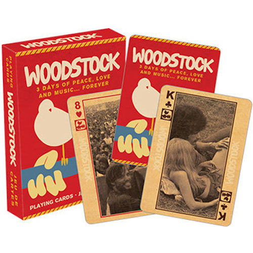 Woodstock - Photos Playing Cards