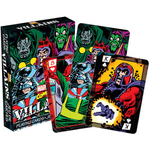 Marvel Villains Playing Cards | Cookie Jar - Home of the Coolest Gifts, Toys & Collectables