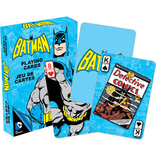 DC Comics Batman Retro Playing Cards | Cookie Jar - Home of the Coolest Gifts, Toys & Collectables