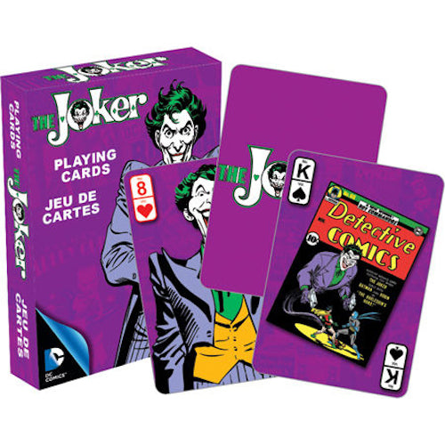 DC Comics The Joker Retro Playing Cards | Cookie Jar - Home of the Coolest Gifts, Toys & Collectables