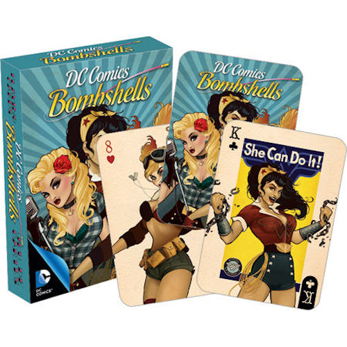 DC Comics Bombshells Playing Cards | Cookie Jar - Home of the Coolest Gifts, Toys & Collectables
