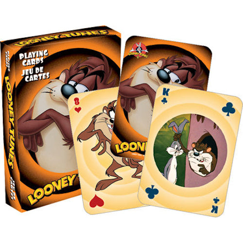 Looney Tunes Tasmanian Devil Playing Cards | Cookie Jar - Home of the Coolest Gifts, Toys & Collectables