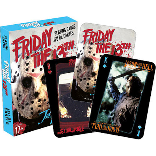 Friday The 13th Playing Cards | Cookie Jar - Home of the Coolest Gifts, Toys & Collectables