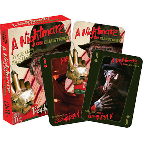 A Nightmare On Elm Street Playing Cards | Cookie Jar - Home of the Coolest Gifts, Toys & Collectables