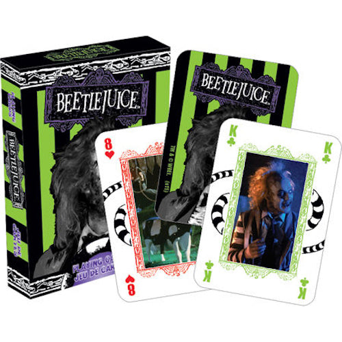 Beetlejuice Playing Cards | Cookie Jar - Home of the Coolest Gifts, Toys & Collectables