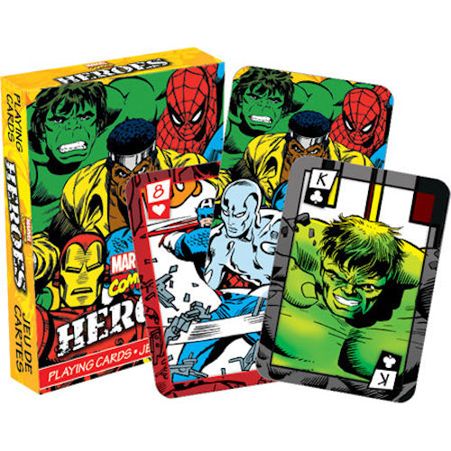 Marvel - Heroes Comics Playing Cards | Cookie Jar - Home of the Coolest Gifts, Toys & Collectables