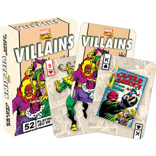 Marvel - Villains Retro Playing Cards | Cookie Jar - Home of the Coolest Gifts, Toys & Collectables